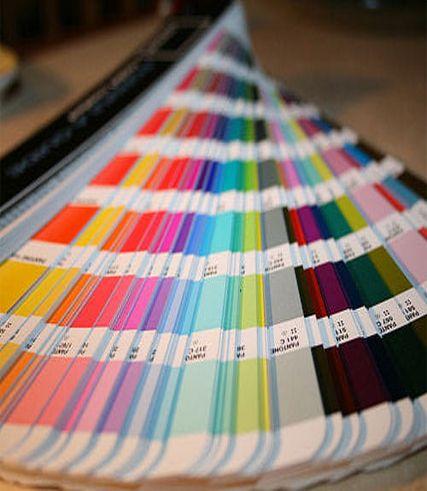 Todas las paletas de colores